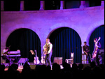 Stuart A. Staples en concierto en el Castell de Bellver (Waiting for Waits 2007, Palma de Mallorca)